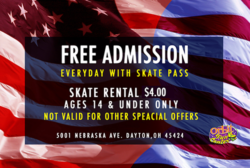 presidents day 2020 skate pass front