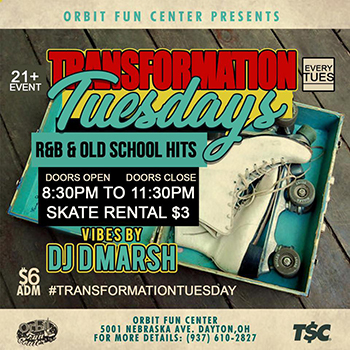 Transformation Tuesday - 21+ Event Every Tuesday